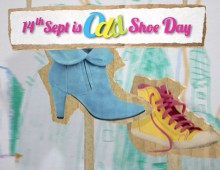 Camp Quality – odd shoe day